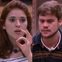 """No """"BBB18"""", Ana Clara diz que não quer saber de Breno: """"Não quero nem olhar na cara"""""""