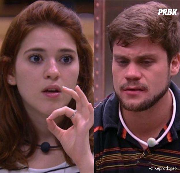 """No """"BBB18"""": Ana Clara garante que não vai mais ficar com Breno!"""
