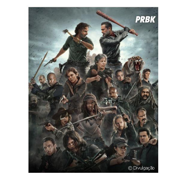 """Em """"The Walking Dead"""", título e episódio de retorno são divulgados!"""
