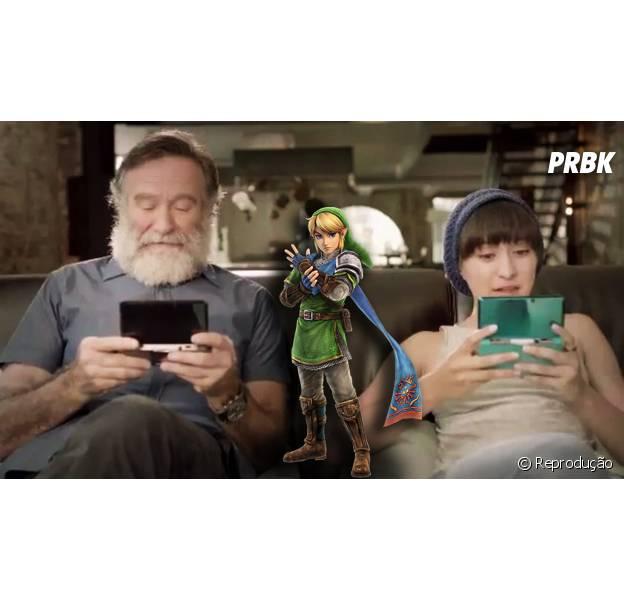 """Fãs querem que Robin Williams seja imortalizado em """"Legend Of Zelda"""""""