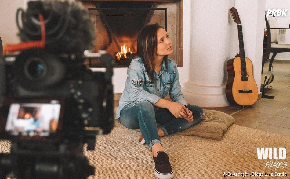 Larissa Manoela participa do clipe de  quot Menina Te Quero Tanto quot ,  primeiro de 99a996b0e4
