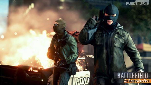 """O gameplay de """"Battlefield Hardline"""" desvendado em 3 vídeos"""