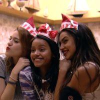 """No """"BBB18"""", Gleici faz aniversário e ganha surpresa fofa de Paula e Ana Clara!"""