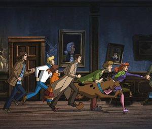 """""""Supernatural"""" e """"Scooby-Doo"""" se encontram em novo crossover"""