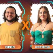 """No """"BBB18"""", Patrícia, Diego e Caruso se enfrentam em novo Paredão Triplo!"""