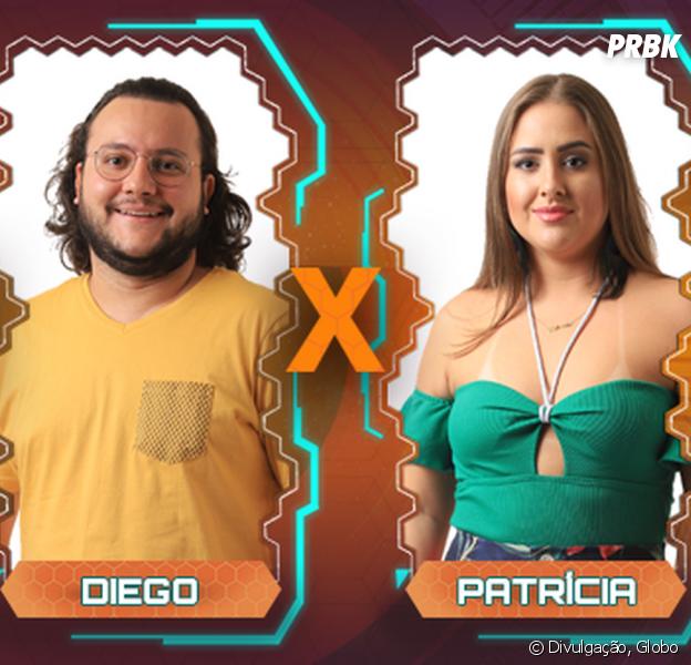 """No """"BBB18"""", Caruso, Diego e Patrícia se enfrentam no Paredão"""