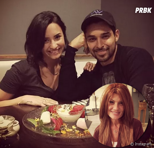 Dianna de la Garza, mãe de Demi Lovato, torce para a filha ficar com Wilmer Valderrama
