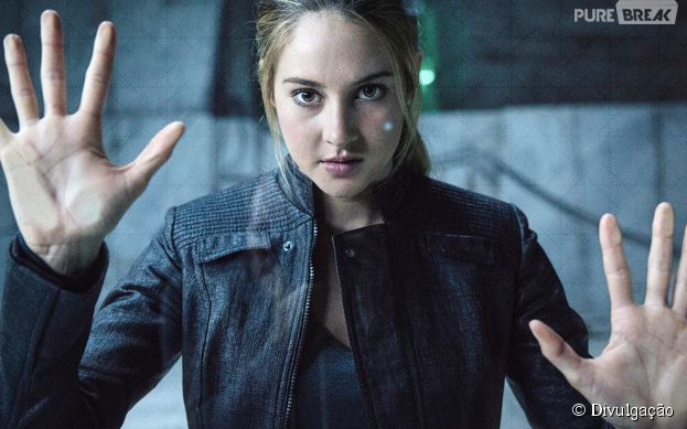 "Shailenne Woodley vive a protagonista Tris, heroína da série ""Divergente"""
