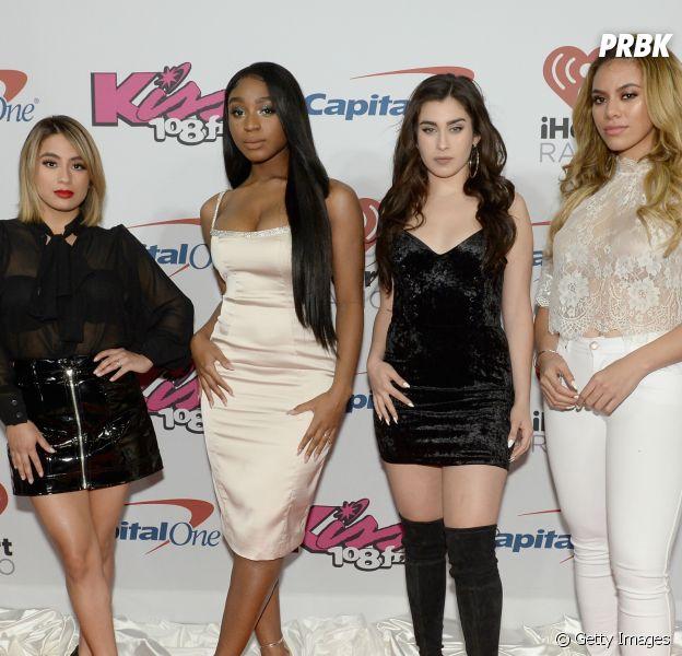 Fifth Harmony riu muito quando viram que Camila Cabello foi cortada de foto com elas