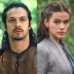 """Novela """"Deus Salve o Rei"""": Afonso vê Catarina vestida de noiva e fica encantado!"""