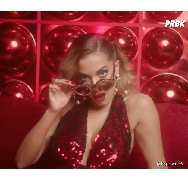 """Anitta conquista topo do Spotify Brasil com """"Indecente"""""""