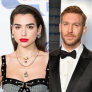 """Dua Lipa e Calvin Harris anunciam parceria """"One Kiss"""" no Instagram e fãs comemoram"""