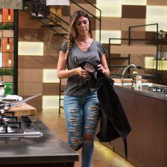 """No """"MasterChef Brasil"""", Andressa é eliminada e alfineta jurados: """"Não concordo com a decisão"""""""