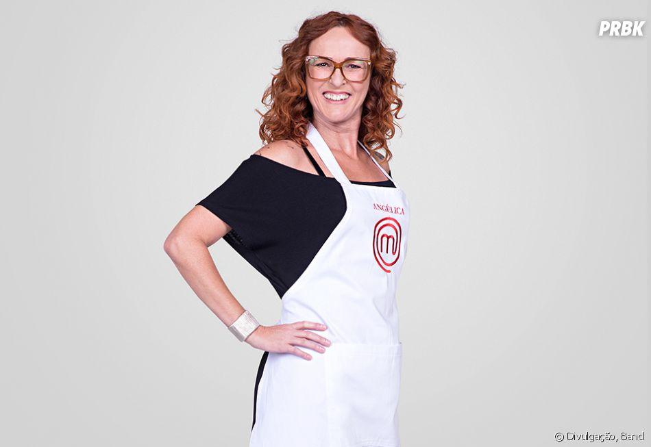 """Angelica é uma das participantes restantes na 5ª temporada do """"MasterChef Brasil"""""""