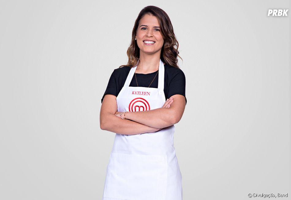 """Katleen é uma das participantes restantes na 5ª temporada do """"MasterChef Brasil"""""""
