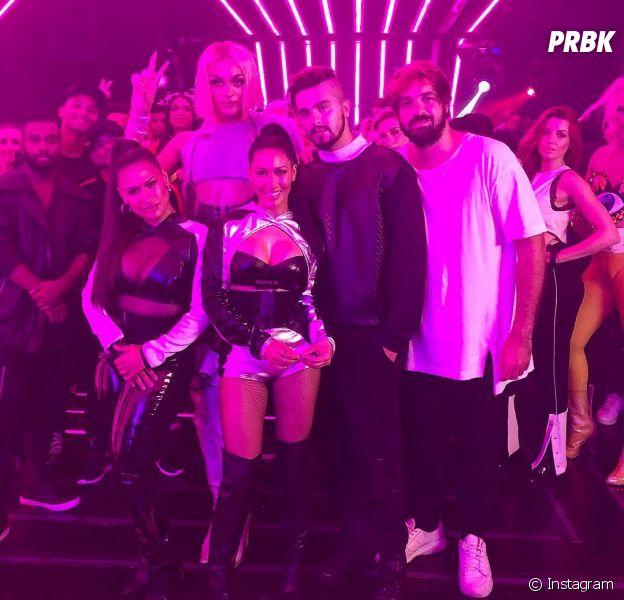 Luan Santana, Pabllo Vittar e Simone & Simaria gravam clipe juntos