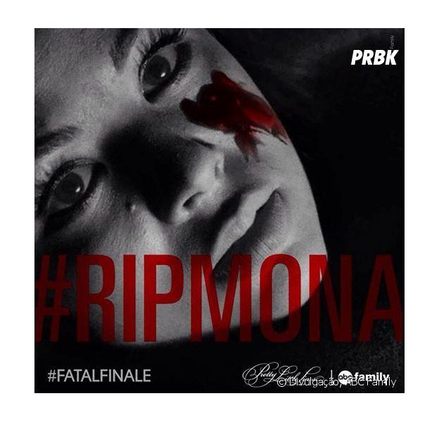 "Mona (Janel Parrish) morreu no Fatal Finale de ""Pretty Little Liars""! #RIPMona"