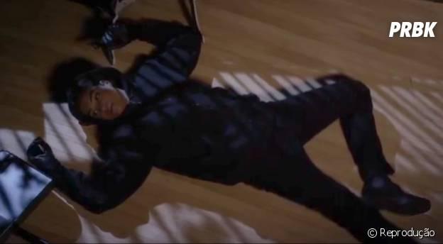 """Na 5ª temporada de """"Pretty Little Liars"""", Shana (Aeriél Miranda) foi assassinada por Aria (Lucy Hale)"""