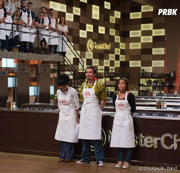 """No """"MasterChef Brasil"""", Kauê e Crisleine deixam o programa em noite de eliminação dupla"""