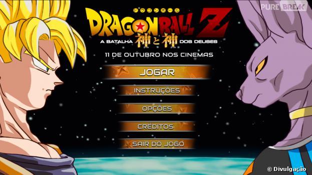 """""""Dragon Ball Z: A Batalha dos Deuses"""" - O Jogo é o game oficial do filme"""