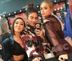 """Giovanna Grigio, ex-""""Malhação"""", reencontra Ana Hikari e Isabella Scherer e comemora no Instagram"""
