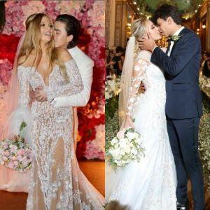 Whindersson e Luiza Sonza ou Cocielo e Tata Estaniecki: qual casal teve o casamento mais lindo?