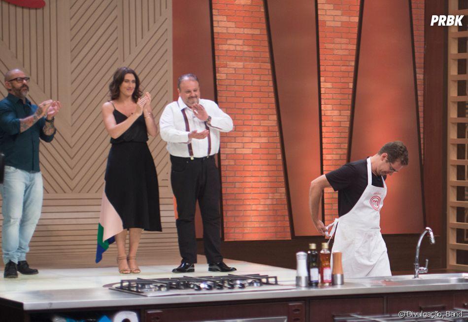"""Eliminado do """"MasterChef Brasil"""", Aristeu quer ver Rita na grande final do programa"""
