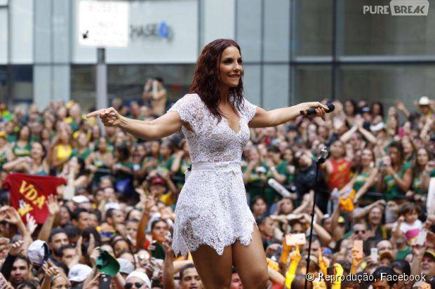 Ivete Sangalo embala hits no Brazilian Day em Nova York, nos Estados Unidos