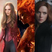 Capitã Marvel, Feiticeira Escarlate, Vampira e as heroínas mais poderosas da Marvel