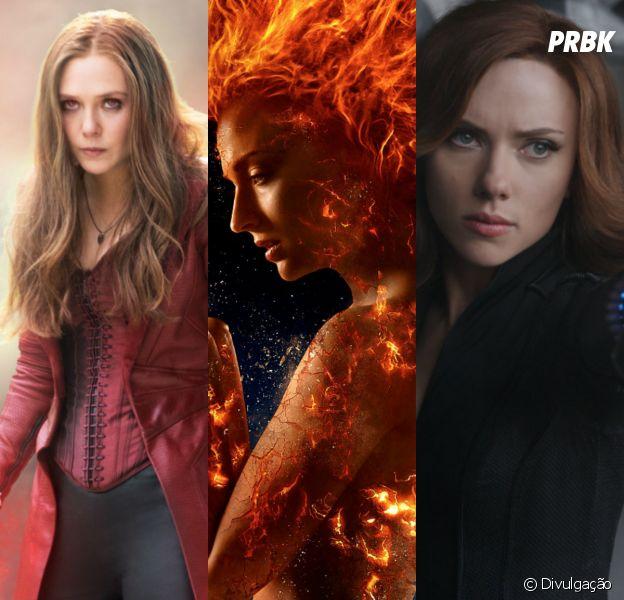 Capitã Marvel, Feiticeira Escarlate, Fênix Negra e mais heroínas da Marvel que são incríveis