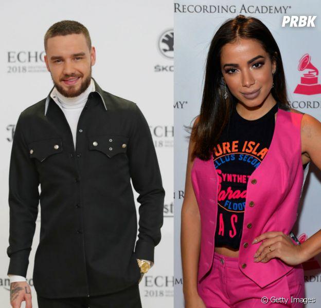 Anitta e Liam Payne se encontram durante prêmio internacional da MTV