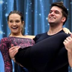 """Juliana Paiva treina na """"Dança dos Famosos"""" com ex-mentor de Bruna Marquezine"""