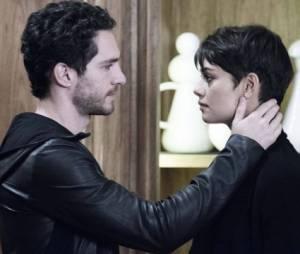 "Gonzalez (Michel Noher)visita e presta solidariedade a Duda (Sophie Charlotte), em ""O Rebu"""