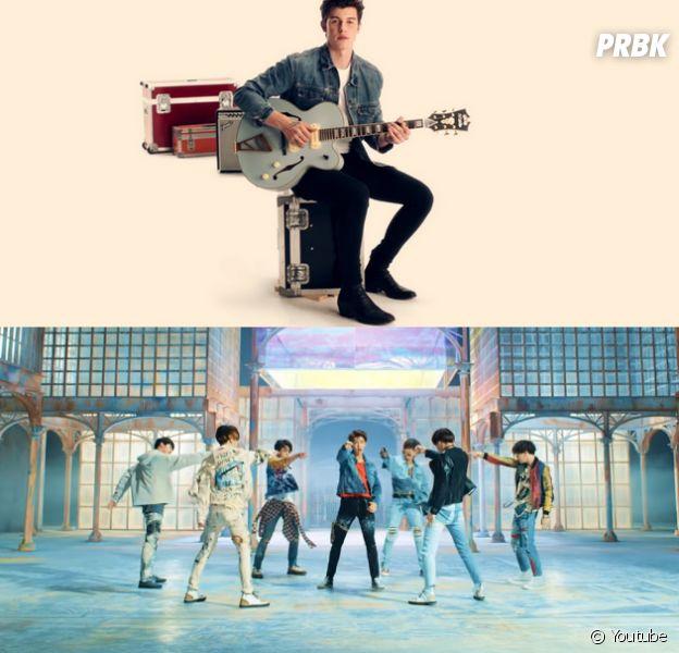 Shawn Mendes fala sobre música com BTS
