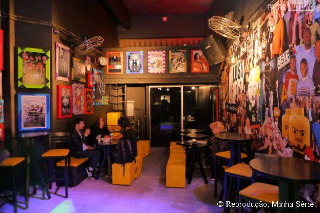 Não há amante de séries que resista ao Season One Arts & Bar, em São Paulo!