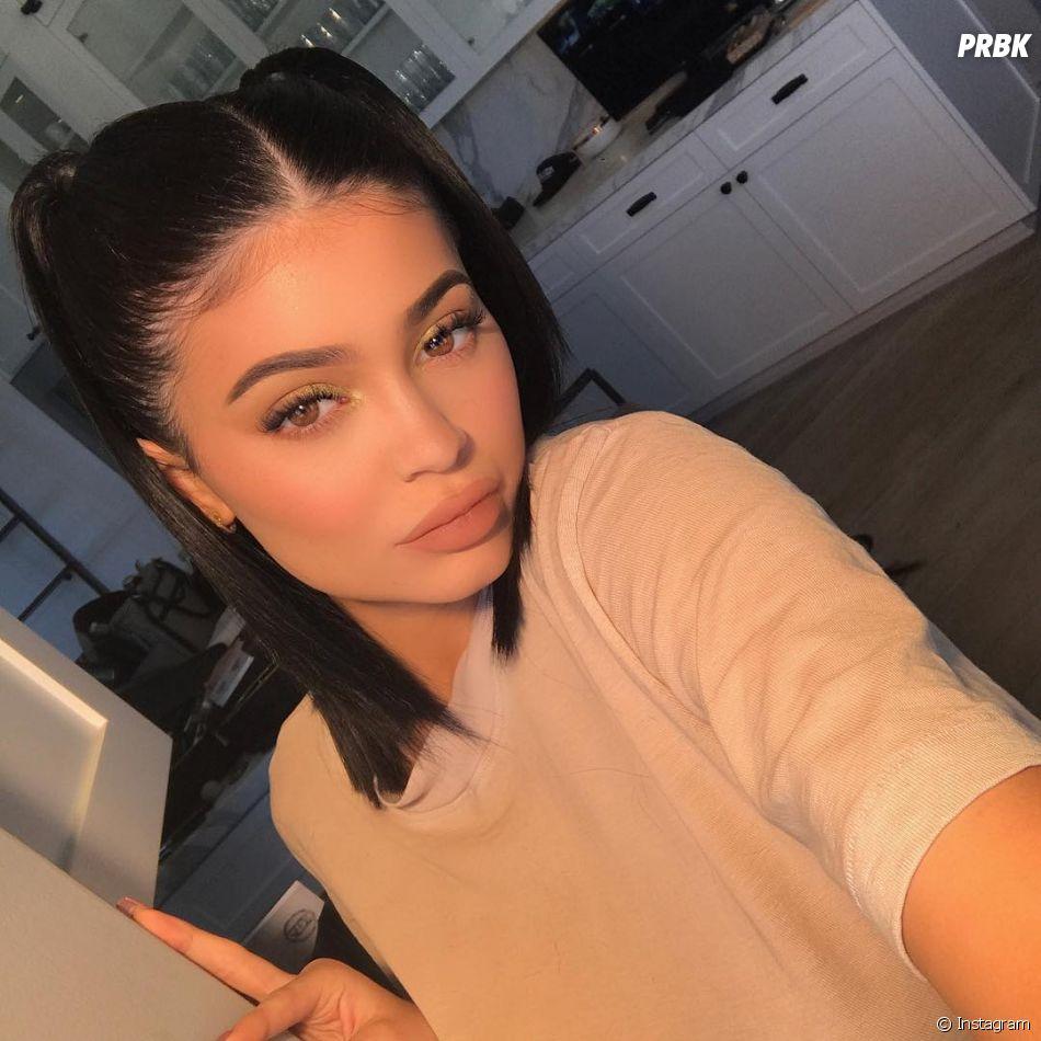 Kylie Jenner apareceu em seu Instagram com lábios mais finos