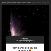 Marina Ruy Barbosa responde seguidores em novo recurso do Instagram