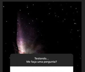 Marina Ruy Barbosa usou nova ferramenta de Instagram para responder curiosidades dos fãs