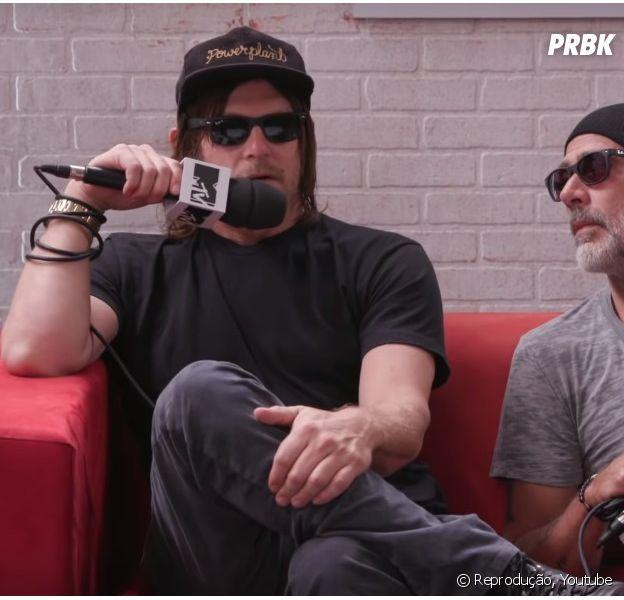 Norman Reedus (Daryl) em entrevista à MTV, diz que seu personagem não ficará no lugar de Rick (Andrew Lincoln)