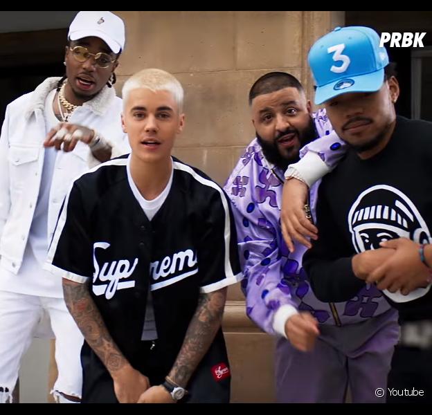"""""""No Brainer"""": música nova de DJ Khaled com Justin Bieber, Chance the Rapper e Quavo sai sexta-feira (27)"""