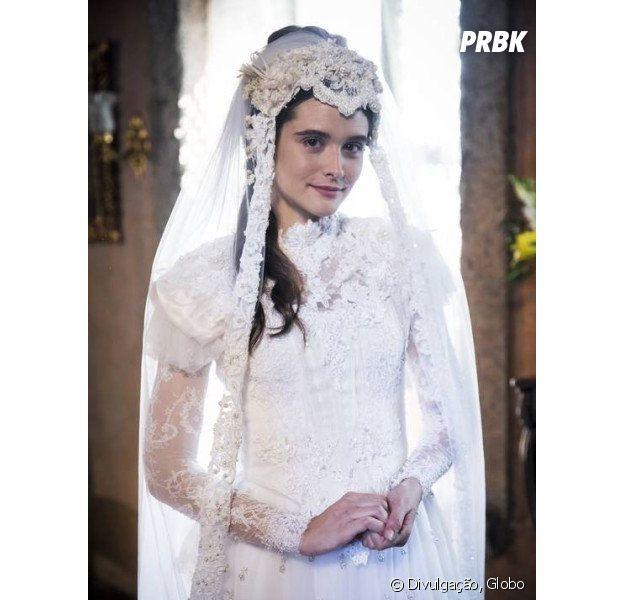 """Em """"O Tempo Não Para"""", Marocas vai fugir de casamento no primeiro capítulo!"""