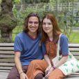 """Florito é vida! Veja 42 fotos para shippar Flora (Jeniffer Oliveira) e Tito (Tom Karabachian), de """"Malhação"""""""