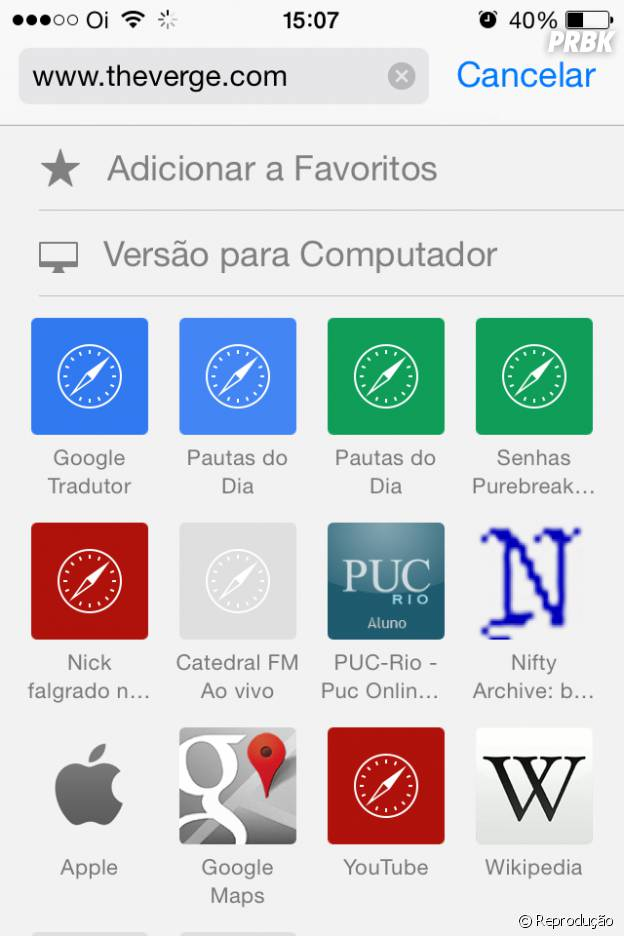 b694dd7b360 8 coisas que mudaram com o novo sistema operacional da Apple: iOS 8 ...