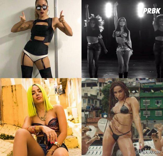"""De """"Show das Poderosas"""" a """"Medicina"""", veja 10 looks icônicos da Anitta"""