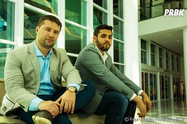 Olegas Orlovas e João Mendes Neto os investidores da ThinKkers e cabeças da ThinPlay