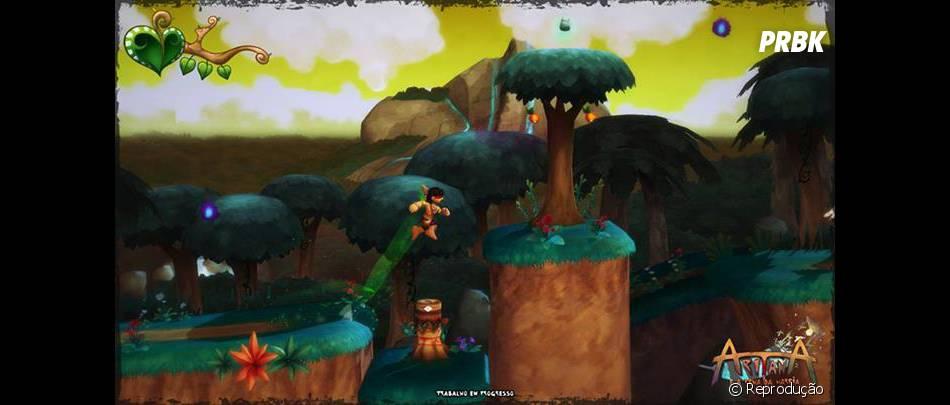 """""""Aritana"""" é um dos jogos nacionais que serão comercializados na ThinPlay"""