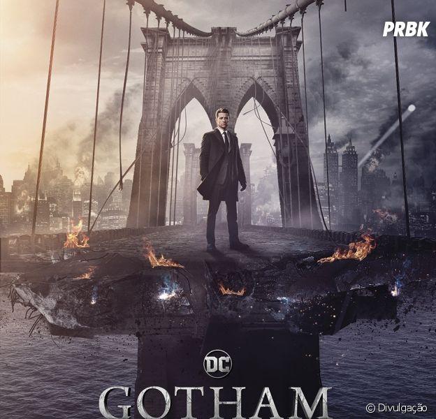 """Em """"Gotham"""", Jim Gordon (Ben McKenzie) aparece em cidade destruída"""