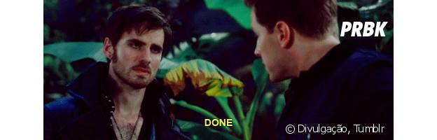"Hook e Charming, em ""Once Upon a Time"""