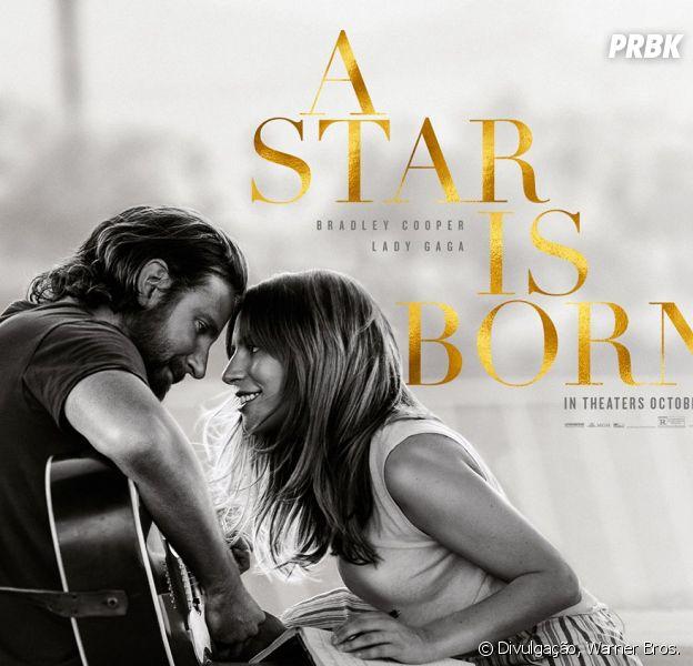"""De """"A Star Is Born"""": ouça """"Shallow"""", parceria entre Lady Gaga e Bradley Cooper para a trilha sonora do filme!"""