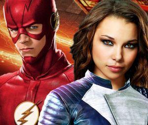 """Em """"The Flash"""", Barry (Grant Gustin) e Nora (Jessica Parker Kennedy) finalmente se encontram e os fãs estão ansiosos!"""